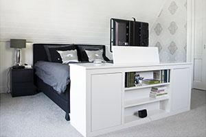 Tv Slaapkamer. Cool Frans U Marie Tv Meubel Slaapkamer With Tv ...